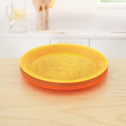 5 Pack Multi Plates By Munchkin Moderate Cost Bowls & Plates