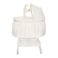 Childcare My Little Cloud Quilted Baby Bassinet W Wheels