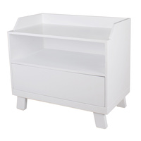 Bebecare Casa Toy Box with Seat White