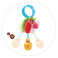 Yookidoo Baby Activity Musical Toy Rattle Giddy Up Gal Play Set