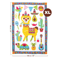 Yookidoo Fiesta Kids Baby Activity Playmat to Bag