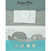 Bubba Blue Petit Elephant Bassinet Sheet Set