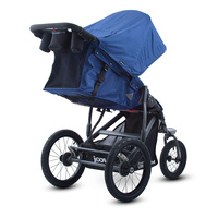 Joovy Zoom 360 Ultralight Jogging Stroller Blueberry