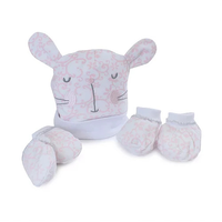 Bubba Blue 3pcs Newborn Layette Set  Bunny Hop
