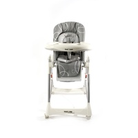 Love N Care Deluxe Techno Highchair Grey Swirl
