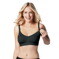 Bravado Body Silk Seamless Nursing Bra BLACK Xtra Large