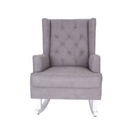 Love N Care Icarus Rocking Chair Gray