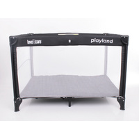 Love N Care Playland Travel Cot Nero