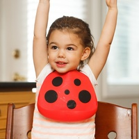 Make My Day Baby Bib - Buggin' Out Ladybug