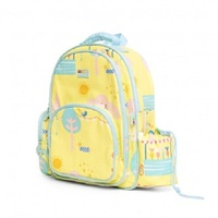 Penny Scallan Girl Kids Backpack Large Park Life