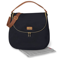 Skip Hop Curve Satchel Nappy Bag Black