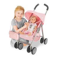 Maclaren Junior TX Mac La Rein Dolls Pram Pink