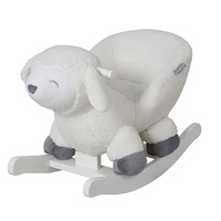 Childcare Deluxe Kids Rocking Toy Chair Lamb