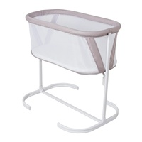 Childcare Baby Bassinet Incl Mattress Pad White
