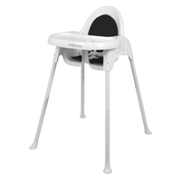 Childcare Baby Feeding Highchair Fizz High Chair Black