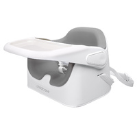 Childcare Ezi Feed 2 in 1 Booster High Chair Seat Cool Grey