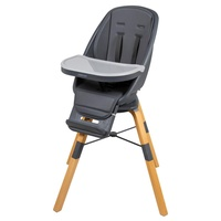 Childcare Baby Feeding High Chair 360 Degree Rotating Seat Highchair Graphite