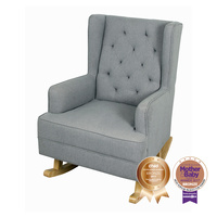 Bebecare Baby Breast Feeding Nursery Rocking Chair