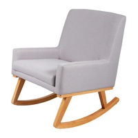 Childcare Osmo Rocking Nursery Chair Beech