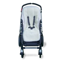 Outlook Deluxe Wool Liner - Cream Lambswool Pram