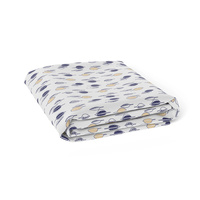 Bubba Blue Bamboo Jersey Bassinet Fitted Sheet Night Sky
