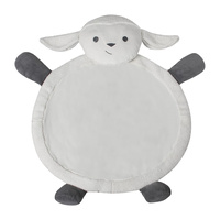 Childcare Animal Kids Plush Play Mat Lamb