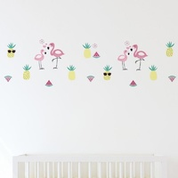 Lolli Living Wall decal Stickers set Flamingo