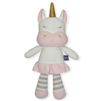 Living Textiles Softie Toy Character Kenzie the Unicorn