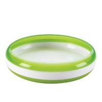 Oxo Tot Kids Baby Toddler Training Plate Green