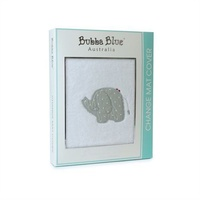 Bubba Blue Petit Elephant Change Mat Cover