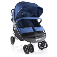 Joovy ScooterX2 Twin Double Duo Stroller Blueberry