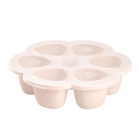 Beaba Silicone multiportions Freeze Store Baby Food 6 x 150 ml Pink