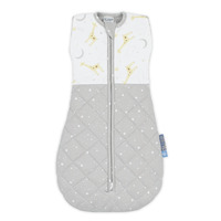 Living Textiles Zip Up Swaddle [2.5TOG] 4 - 12m Noah Giraffe