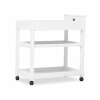 Boori Squared 3 Tier Changer Change Table White