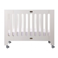 Bloom Alma Papa Crib (Excluding Mattress) Coconut White