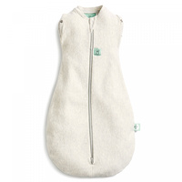 Ergopouch Cocoon Swaddle Bag Heritage 0.2 Tog 0-3 M Grey Marle