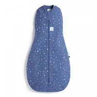 Ergopouch Heritage Cocoon Swaddle Bag Night Sky 1 Tog 6-12 M 8-10 Kg