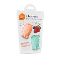 Make My Day Drink Bottle Fruit Infuser Infrusions Mint/Orange