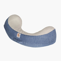 Ergobaby Natural Curve Nursing Pillow Vintage Blue