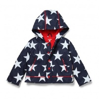 Penny Scallan  RACNS7-8 - Raincoat Navy Star Size 7-8