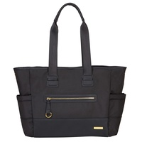 Skip Hop Chelsea 2-in1 Downtown Chic Diaper Tote Nappy Bag Black