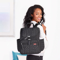 Skip Hop Forma Backpack Nappy Bag Jet Black