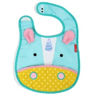 Skip Hop Zoo Tuck Away Bib Unicorn