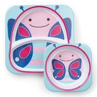Skip Hop Zoo Tableware Melamine Set Butterfly