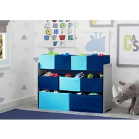 Delta Children Deluxe Multi-Bin Toy Organiser Blue