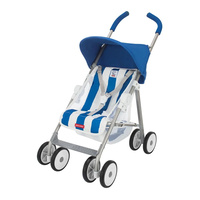 Maclaren Junior B-01 Buggy Dolls Pram Blue Stripes