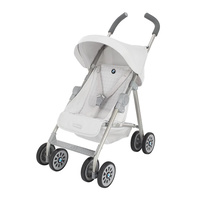 Maclaren Junior BMW Buggy Dolls Pram Silver