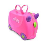 Trunki Kids Luggage Ride On Suitcase Trixie (Pink)