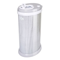 Ubbi Diaper Nappy Pail Bin Wood